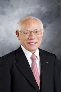 Sakuji Tanaka, 2012-13 RI president.